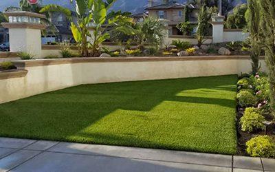 Vegas Artificial Grass backyard view