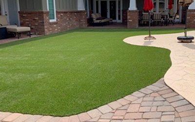 Vegas Artificial Grass installed photo